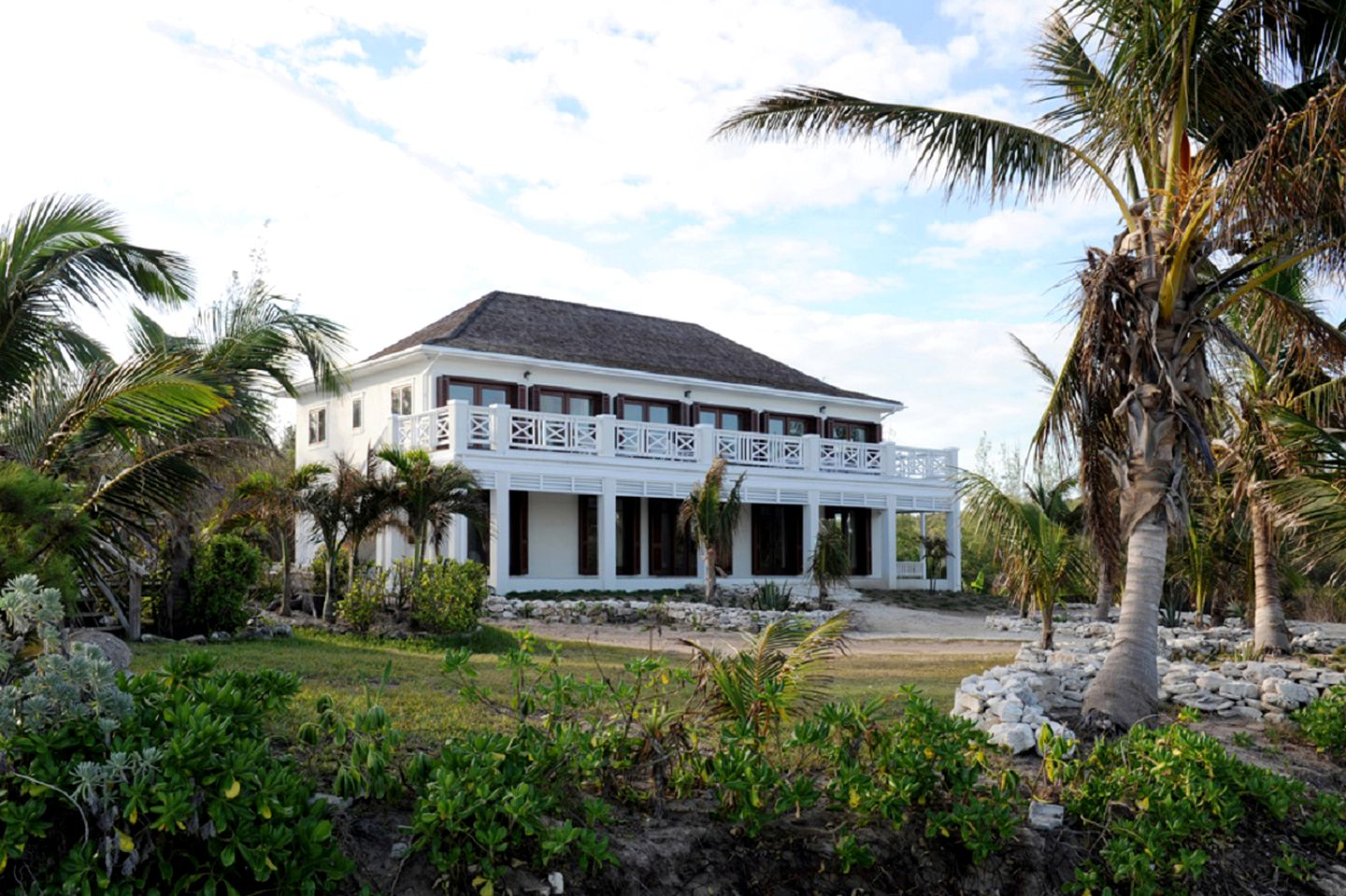 Beach house in Governor's Harbour on North Eleuthera, Bahamas.