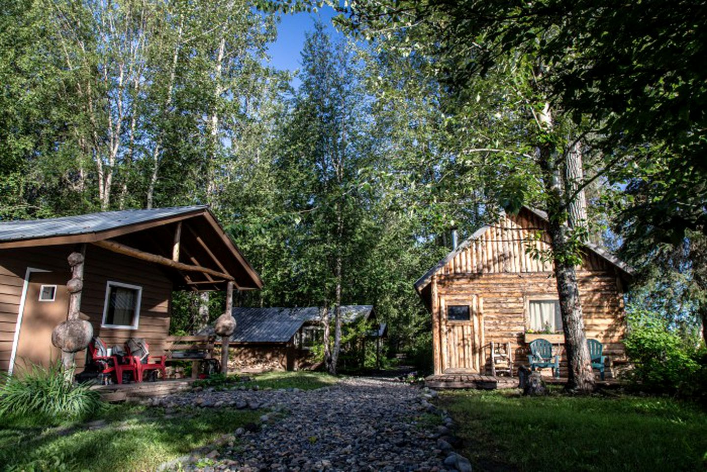 Anchorage, Alaska fishing lodge with all-inclusive vacation packages.