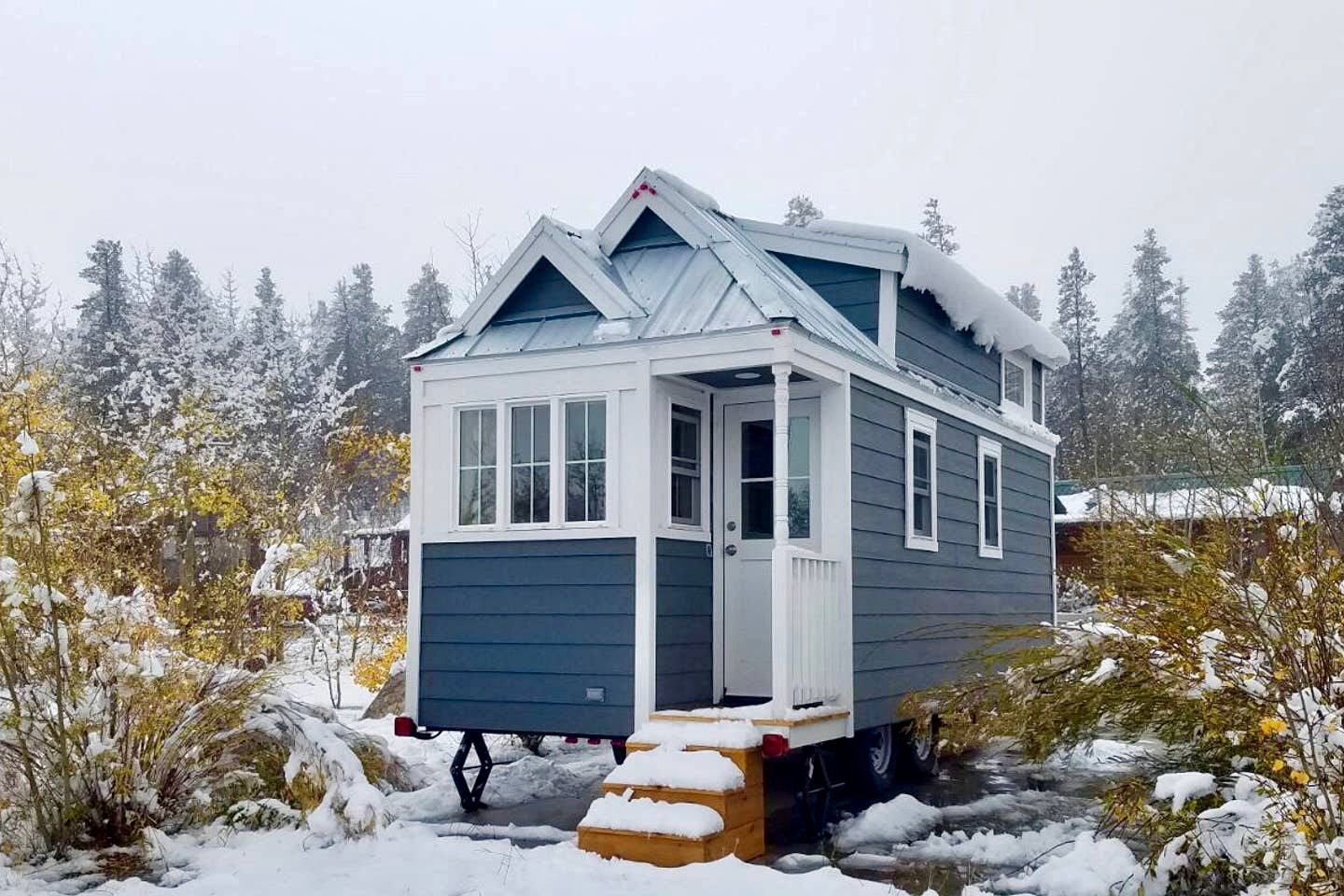 Gorgeous Tiny House Getaway for a Mountain Retreat in Fairplay, Colorado