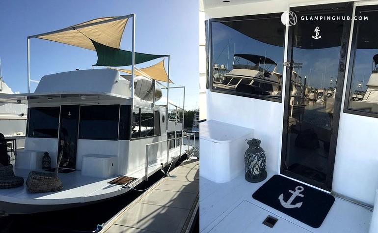 Luxury Houseboat Rental In Key Largo
