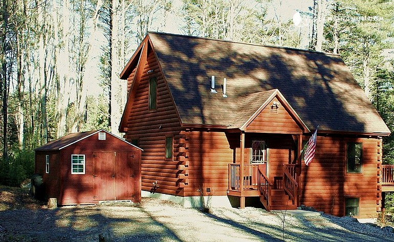 Cabin rental near sebago lake maine for Anthony lakes cabin rentals
