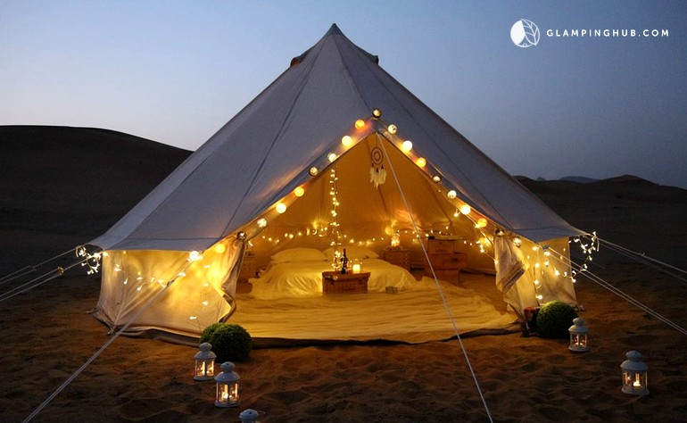 & Luxury Tents Getaway in Dubai