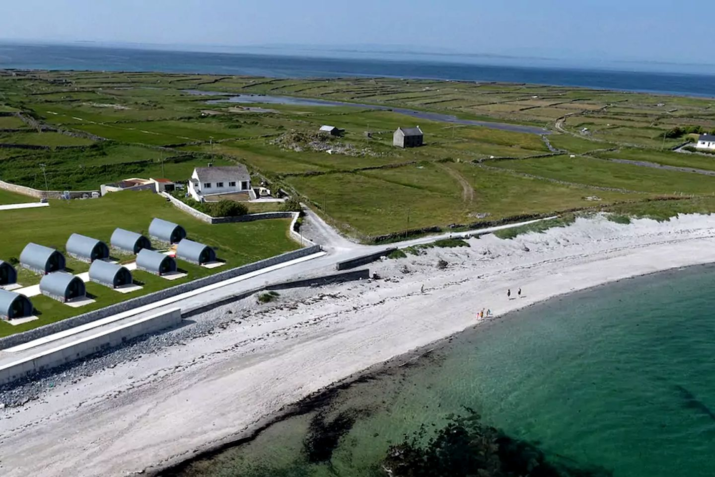 Cabin on Inis Mor Island in Galway - Glamping Hub