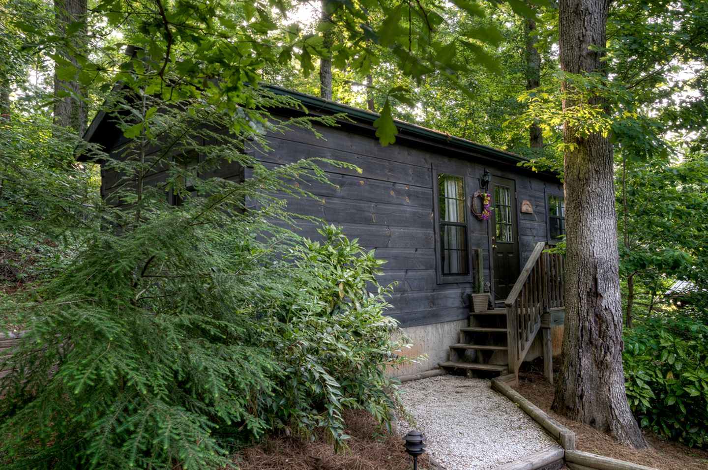 Cabins (Lake Lure, North Carolina, United States): Chimney Rock State Park camping