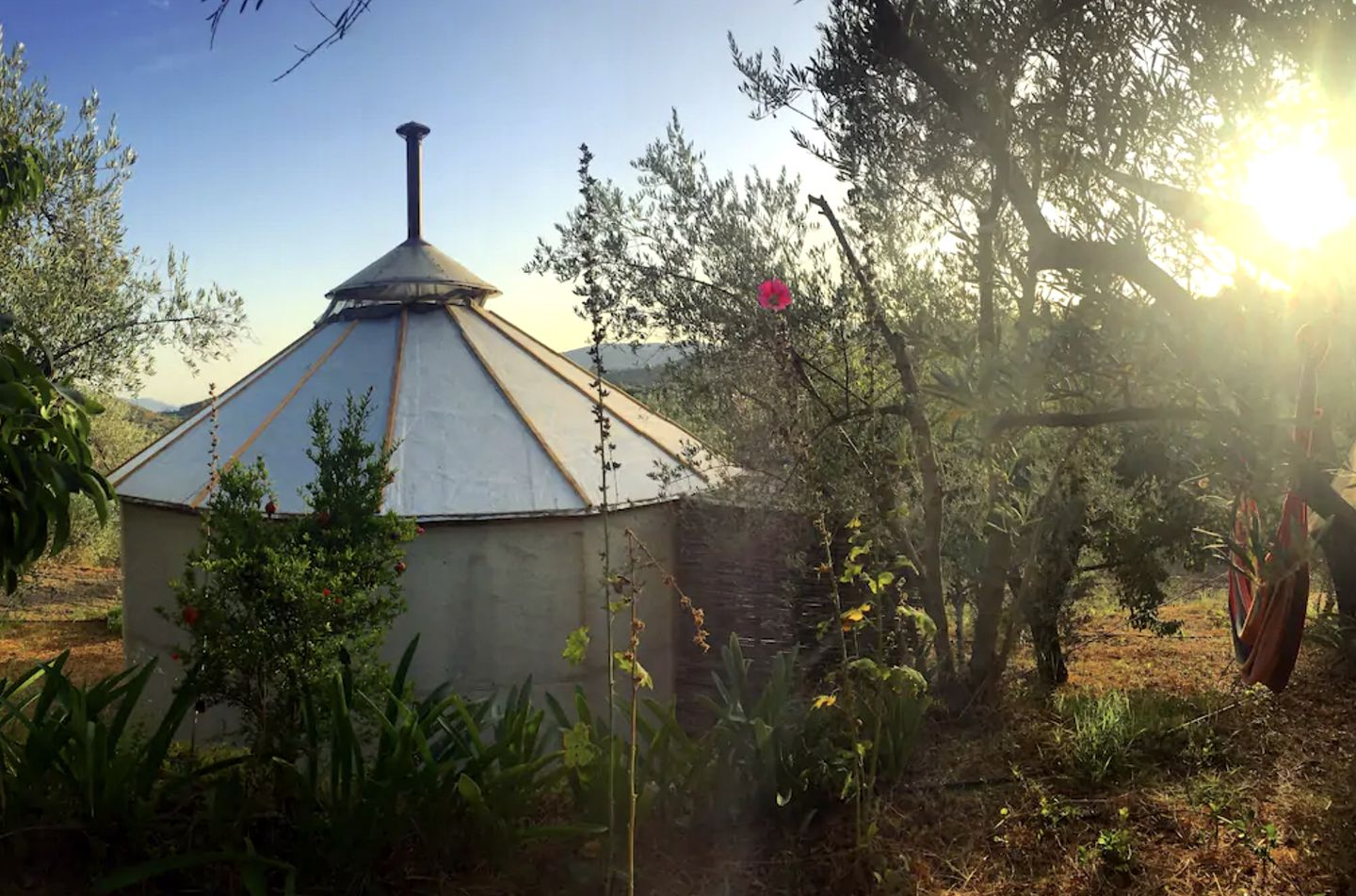 Yurts (Granada, Andalusia, Spain)