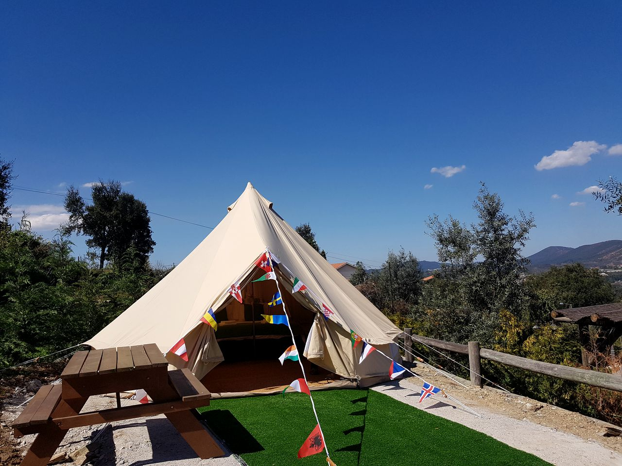 Bell Tents (Raiva, Aveiro District, Portugal)