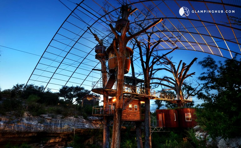 Spicewood Treehouse in Texas