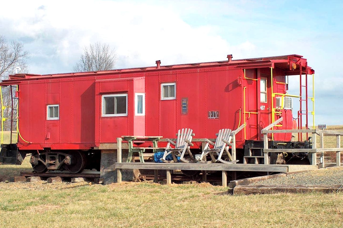 Cabooses (Fancy Gap, Virginia, United States)