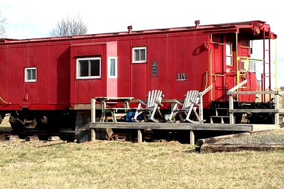Cabooses | Caboose Glamping | Caboose Luxury Camping