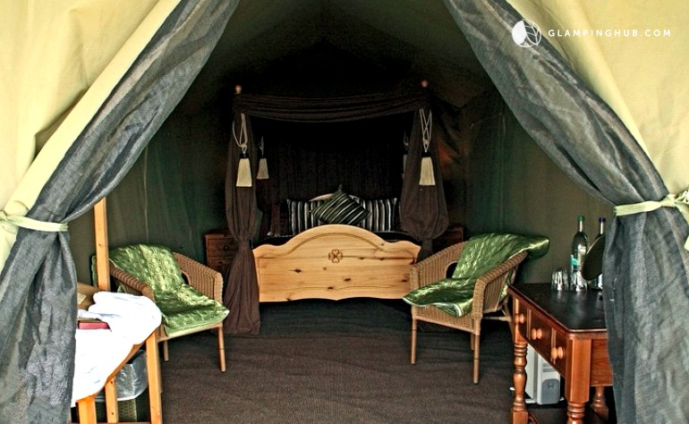 & Luxury Safari Tents in the UK | Glamping in the UK