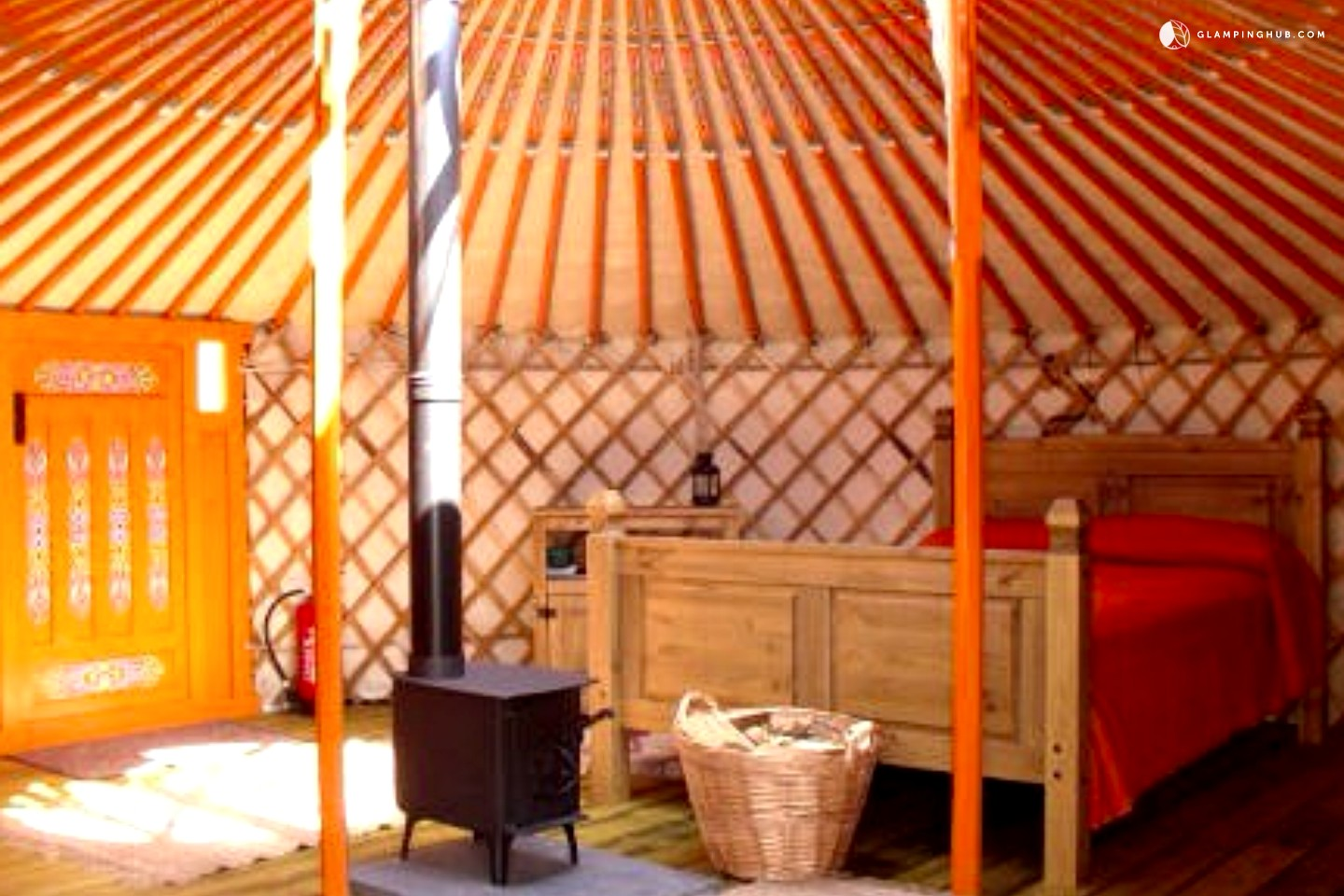 Glamping In Wales Authentic Yurt For Rent In Wales