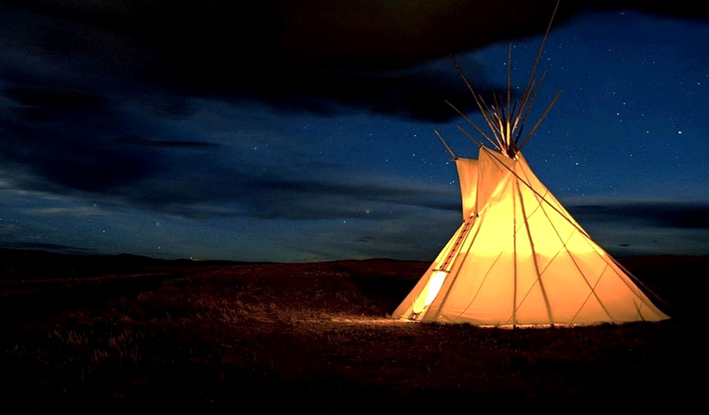 Tipis (Browning, Montana, United States)
