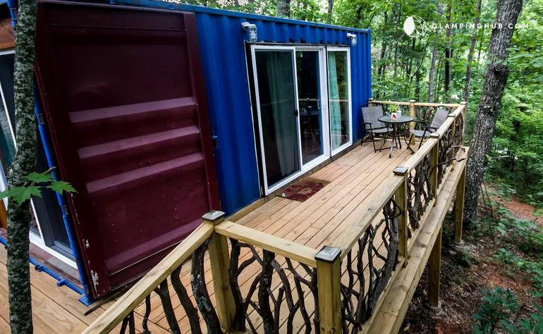 directions ga magazine deck in rentals cabins lodging georgia sccr north cabin