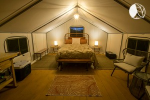 Photo of Basecamp 37° - Tent - Queen bed