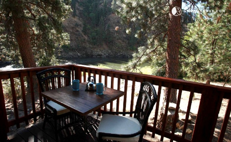 Riverfront cabin rental in northern idaho Cabin creek 15