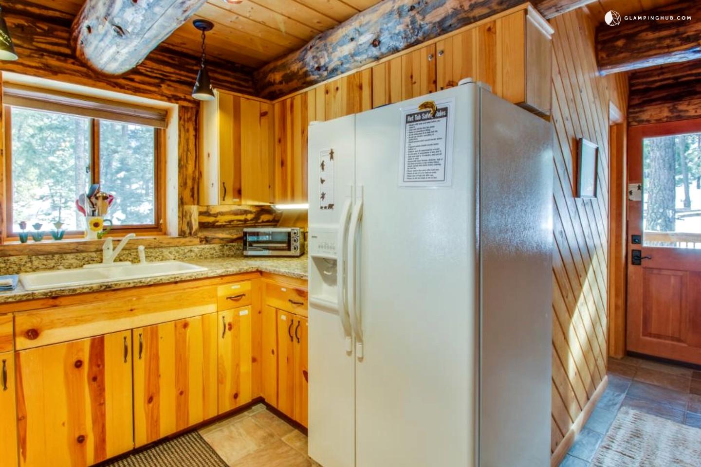 Secluded log cabin near durango colorado for Cabins to stay in durango colorado