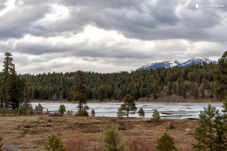 Secluded Log Cabin Near Durango Colorado