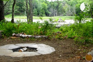 Photo of Beautiful Bell Tent Rental with Pond near Conway State Forest, Massachusetts
