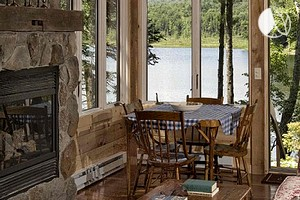 Photo of Beautiful Cabin Overlooking Stunning Lake in New York