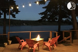 Photo of Beautiful Coastal Luxury Cabin Rental on Herron Island near Olympia