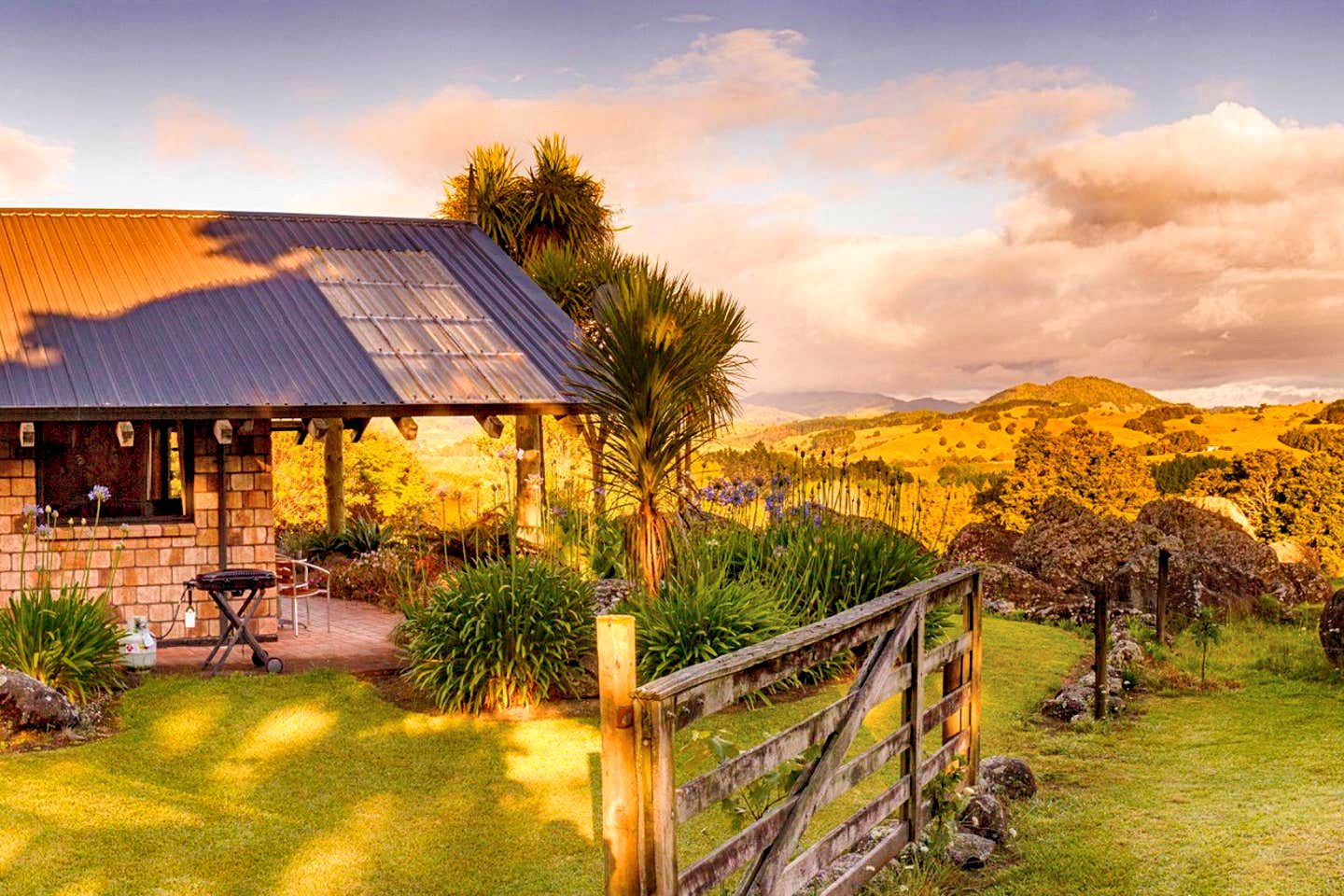 This luxury accommodation near Whangarei is the perfect North Island weekend getaway. The views are simply astounding!