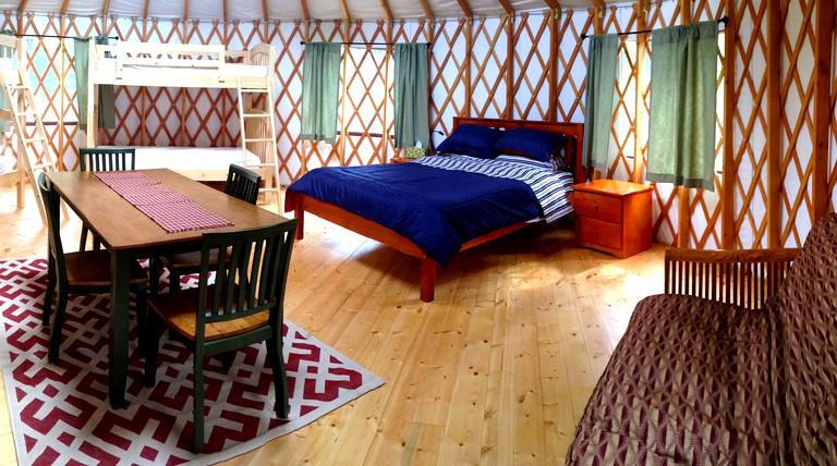 Beautiful Yurt Rentals in Upstate New York