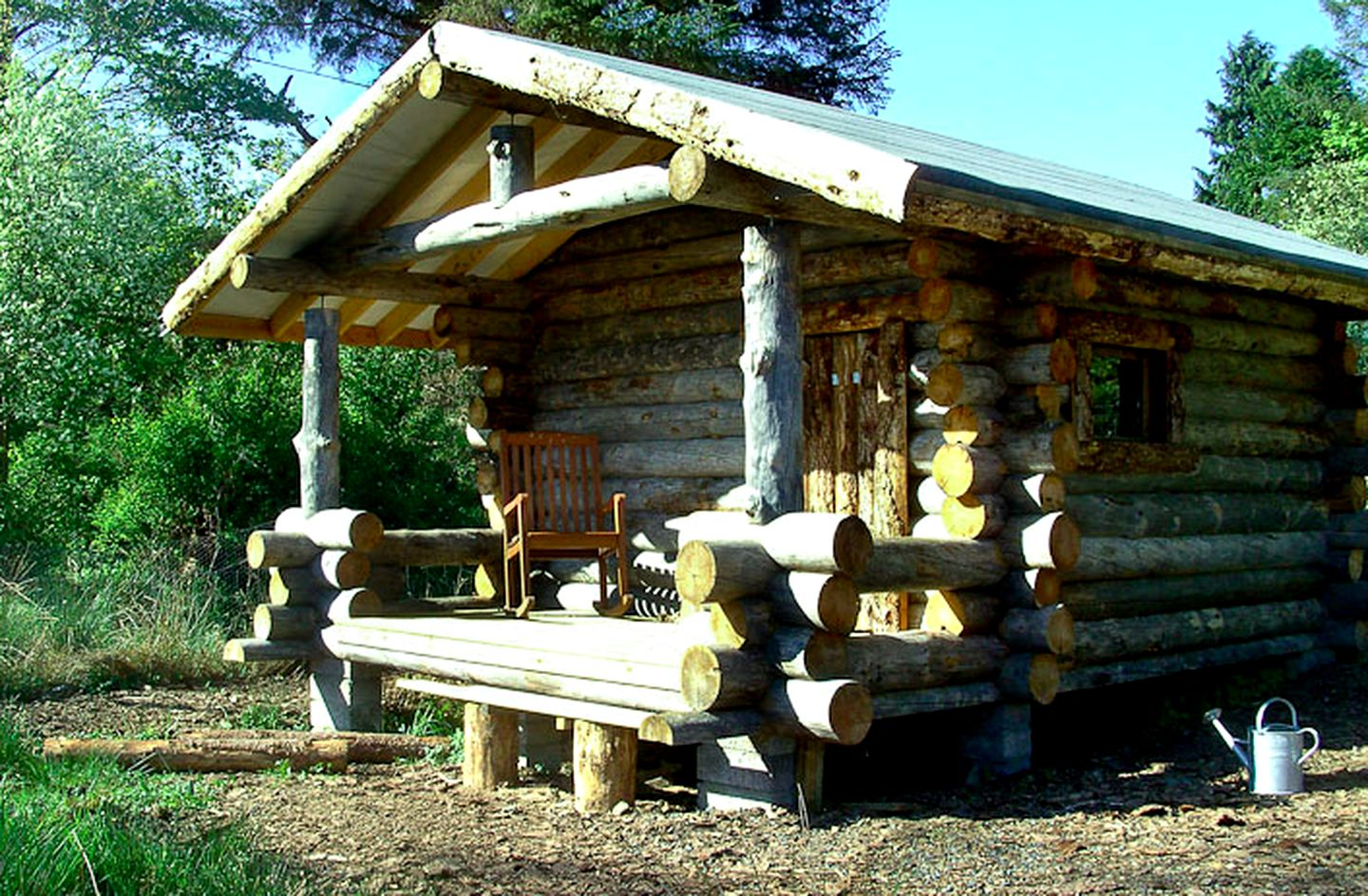 Scandinavian log cabins for rent in Scotland