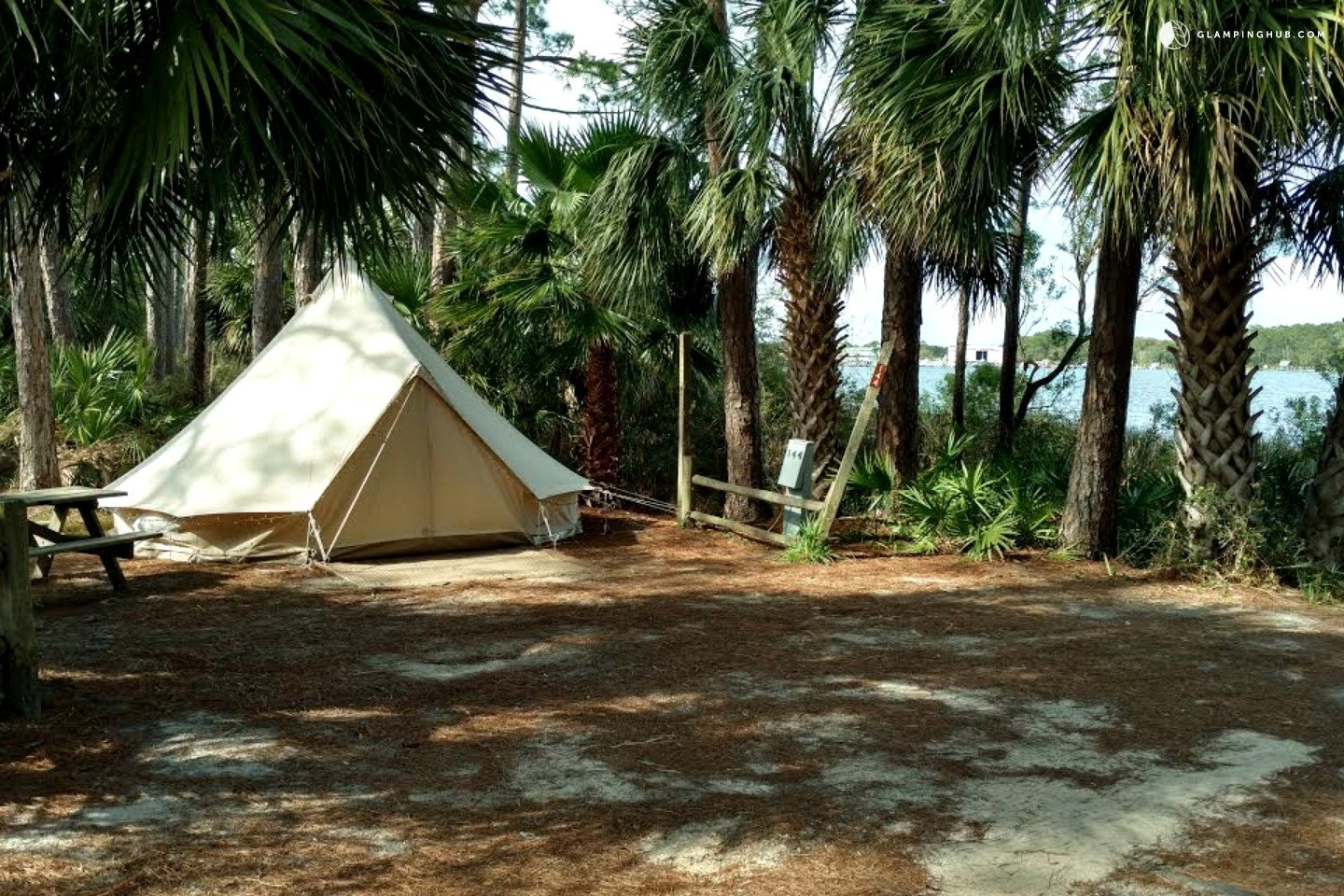 Campground near panama city beach for Nearby campgrounds with cabins