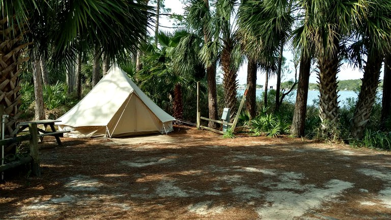 Pet-Friendly, Glamping Tent Campground near Panama City Beach