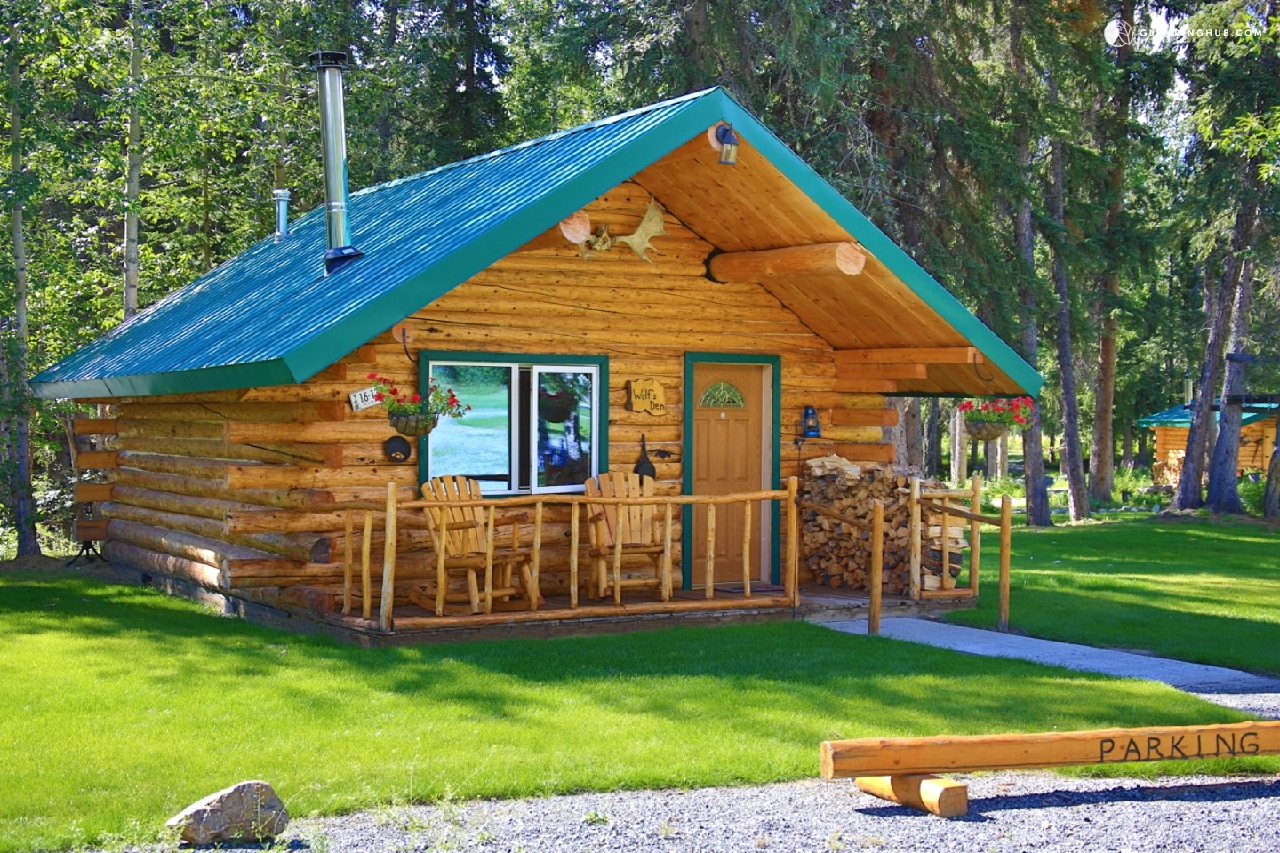 Bed and breakfast cabins alaska for Alaska cottage
