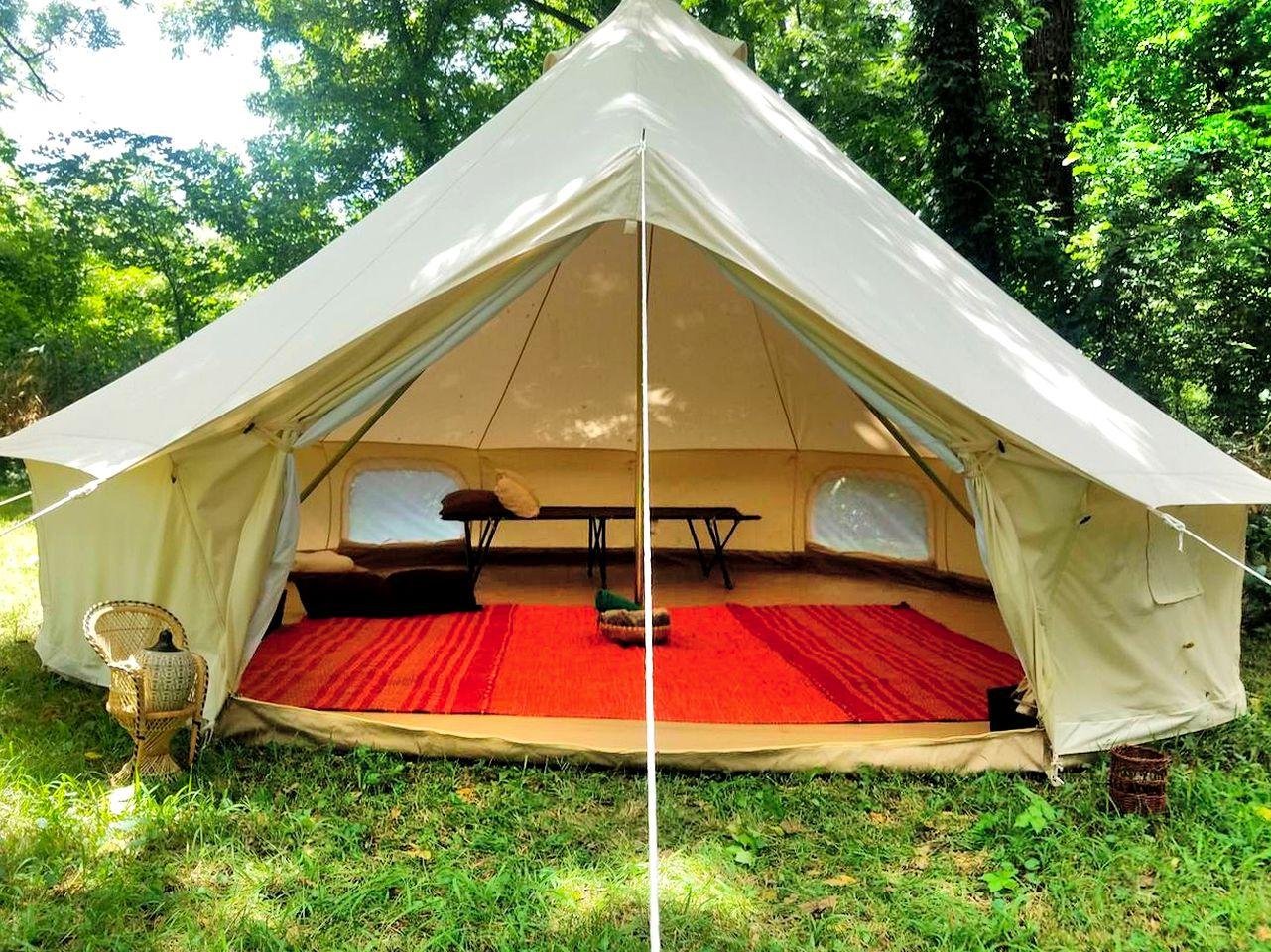 Luxury Camping near Eureka Springs   Glamping in Arkansas