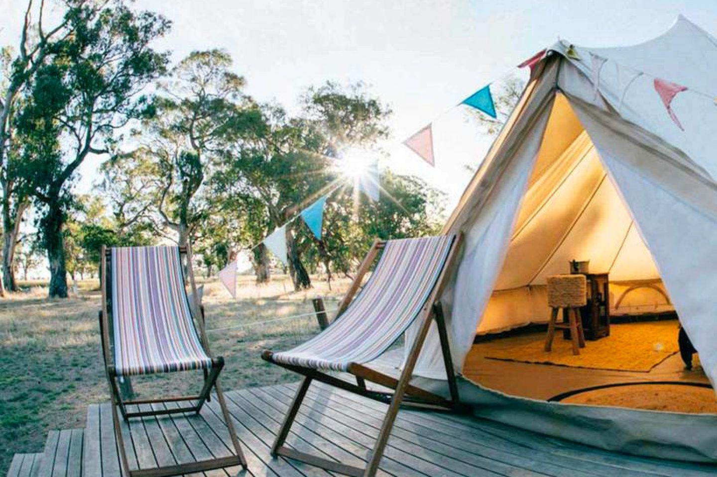 The Coonawarra winery accommodation ideal for guests going glamping in South Australia or looking for relaxing holidays in South Australia