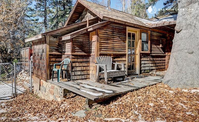 idyllwild dog friendly cabin rental