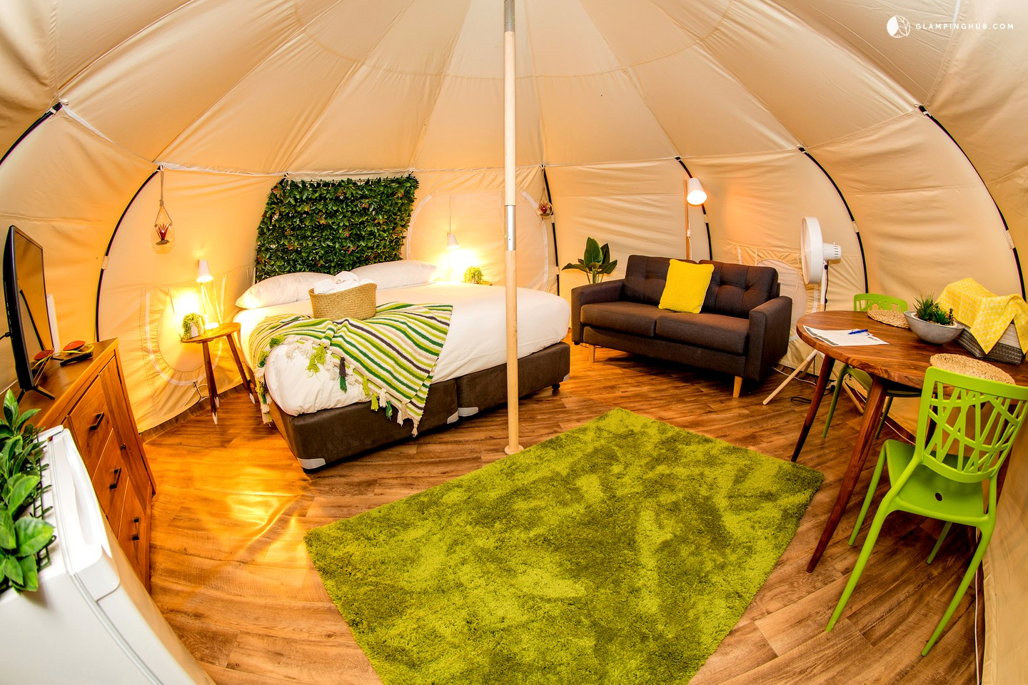 Canvas Bell Tents For Two Near Melbourne