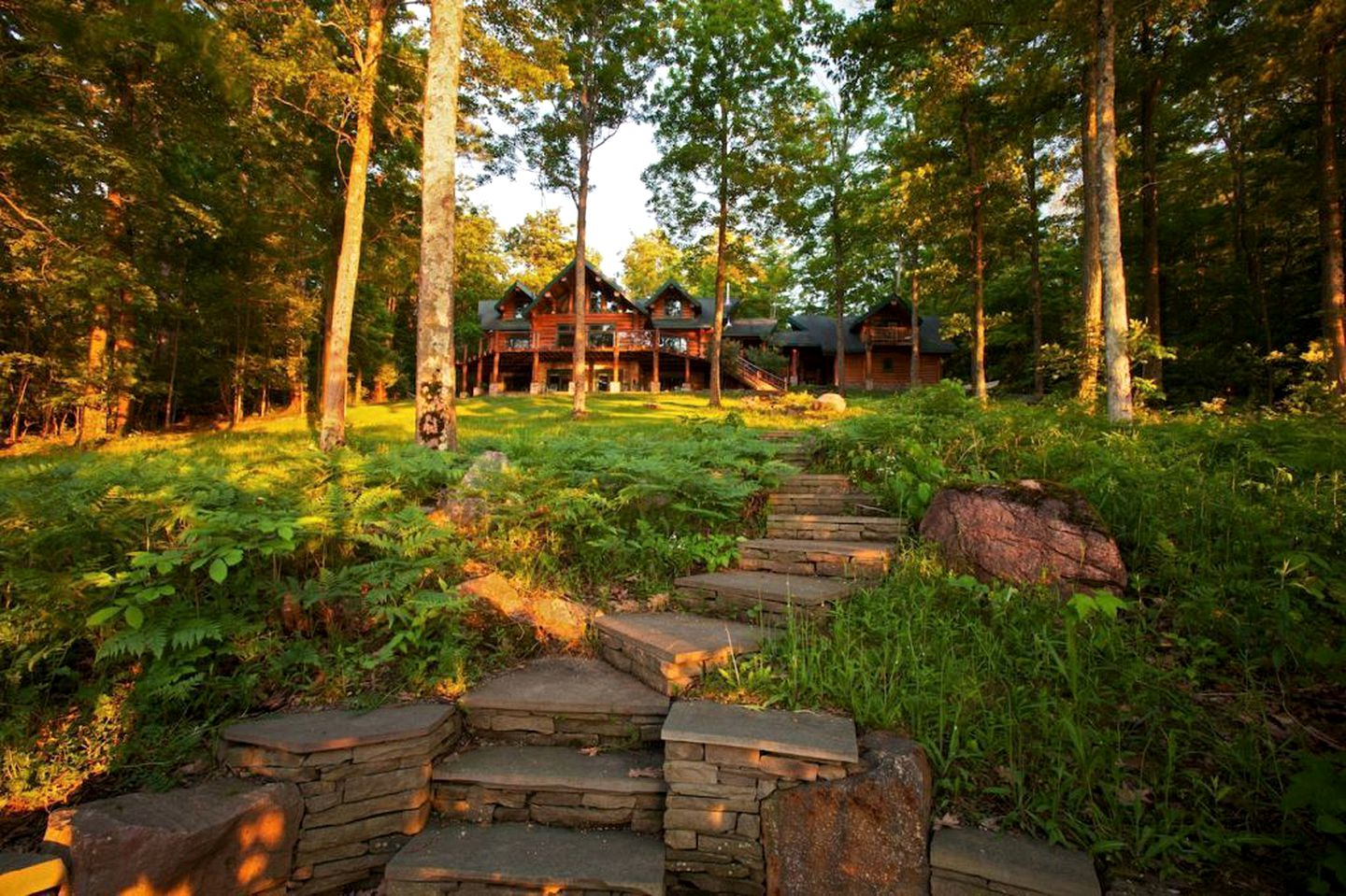 Log Cabins (Cooperstown, New York, United States)