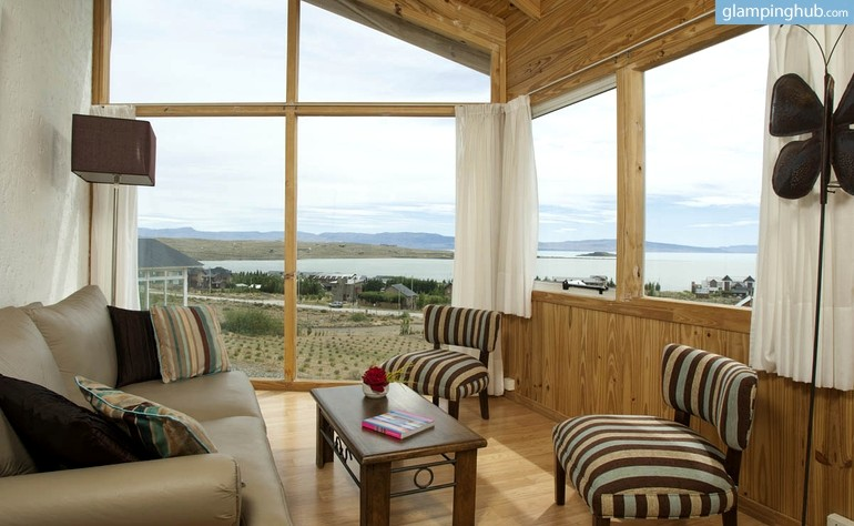 Gorgeous Wood Cabins with a Lake View in Patagonia, Argentina