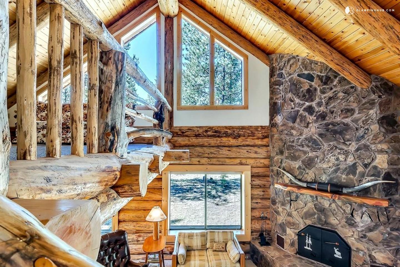 Winter Cabin Rental Near Mt Bachelor Oregon
