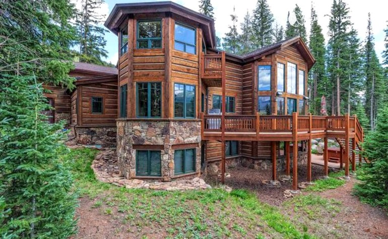 breckenridge cabins colorado in hawk tub cabin mountain luxury log nest hot view s