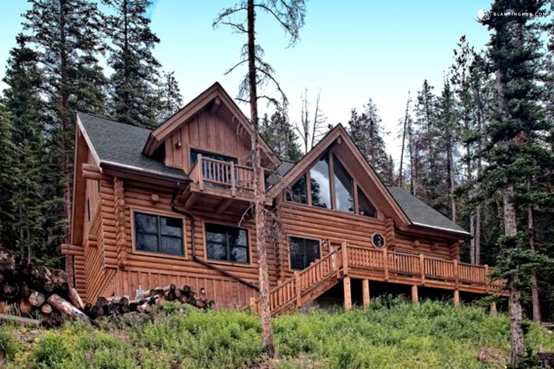 Luxury log cabin in breckenridge colorado for Breckenridge colorado cabins
