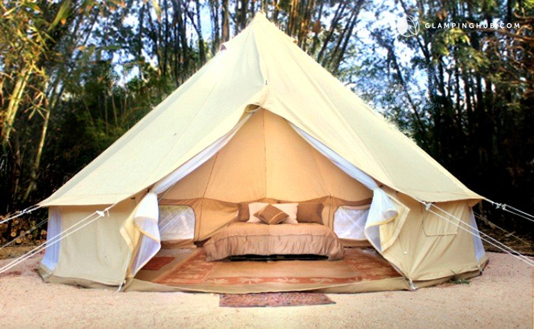 Luxury Camping Tent at La Ribera, Mexico