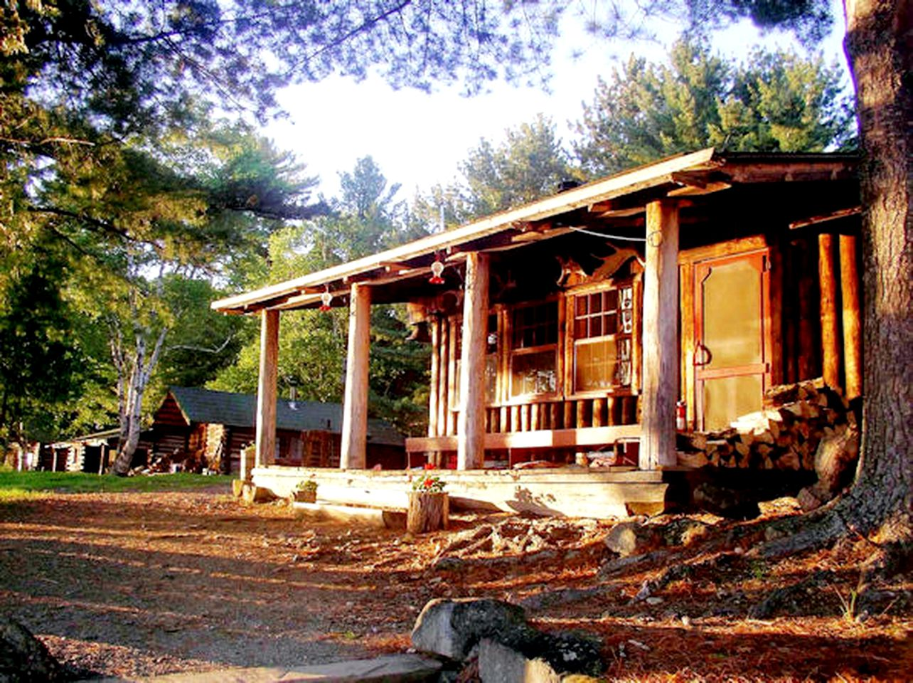 Fishing cabin rental near Ashland, Maine