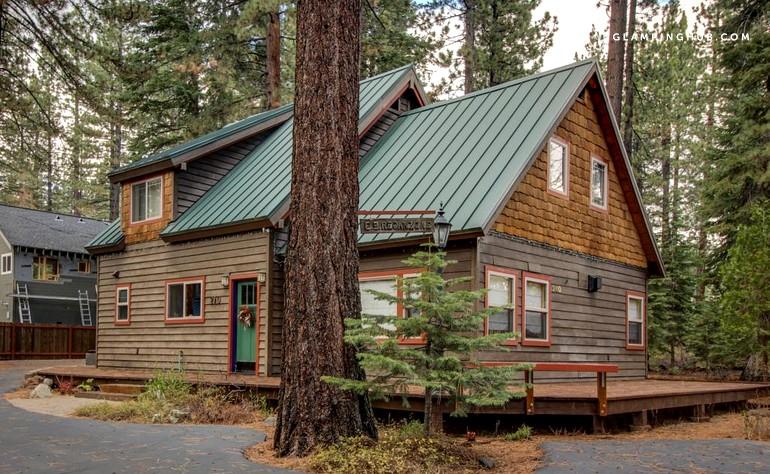 Cabin rental north shore lake tahoe california for Tahoe city cabin rentals