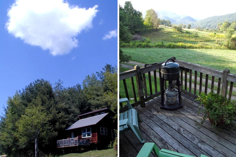 Rental with hot tub near asheville north carolina for Cabin rentals near asheville nc