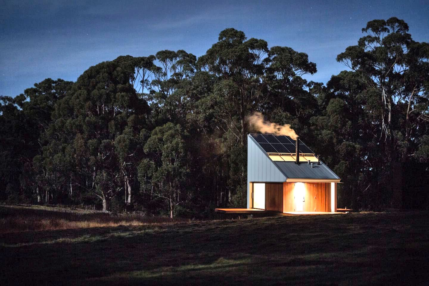 Tiny house accommodation: Bruny Island glamping
