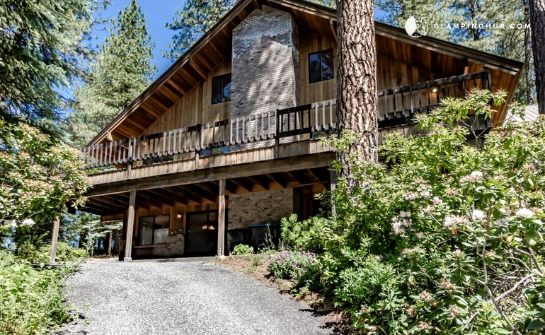 Riverside cabin rental in colorful leavenworth washington for Leavenworth cabin rentals