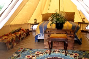 Photo of Bug Hill Farm - Bell tent