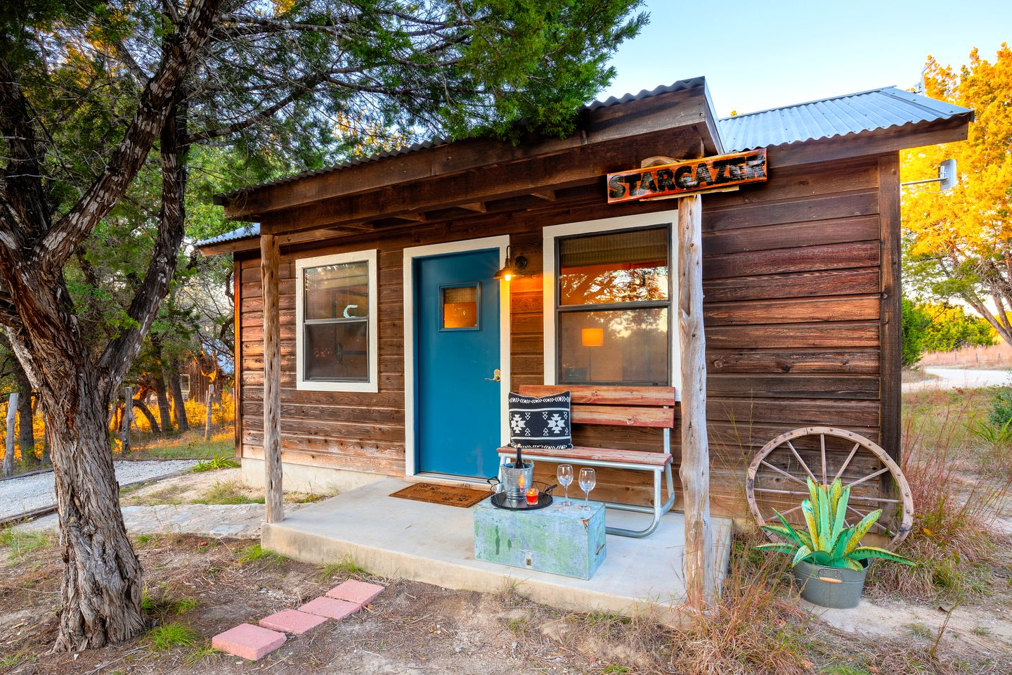 Johnson City accommodation for the best Texas Hill Country glamping!