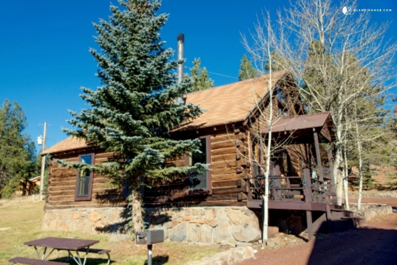 Cabin near sunrise park arizona for Cabins near greer az