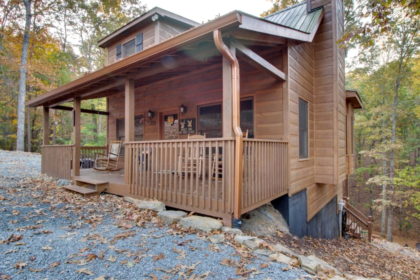 Cabin Near The Blue Ridge Mountains In Ellijay Georgia