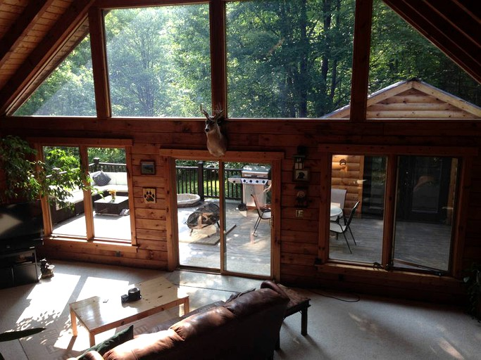 Secluded Cabin Rental Near Letchworth State Park In Buffalo Arcade New York